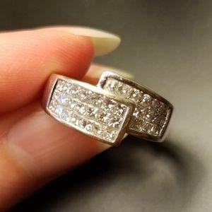 14K White Gold 3/4 Carat Diamond Ring